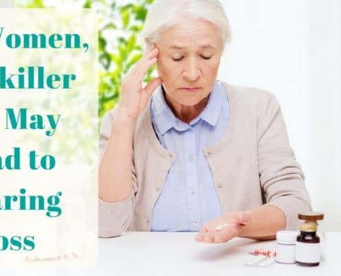 Bay Area Hearing Services - For Women, Painkiller Use May Lead to Hearing Loss