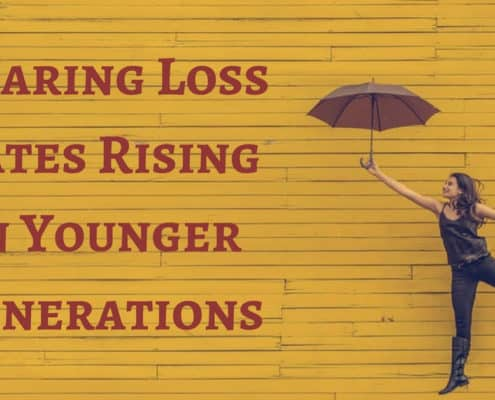 Hearing Loss Rates Rising in Younger Generations(1)