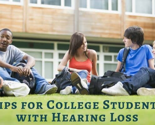 Bay Area Hearing Service - Tips for College Students with Hearing Loss